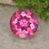 thumb image of 4.1ct Round Facet Deep Magenta Mystic Topaz (ID: 488401)