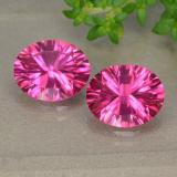 thumb image of 2.9ct Oval Concave Cut Hot Pink Mystic Topaz (ID: 490084)